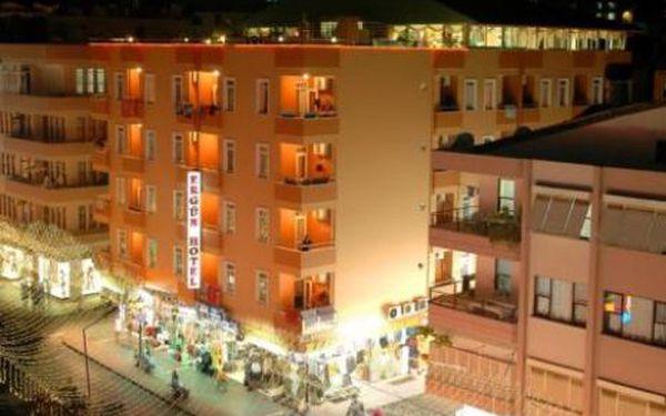 Turecko, oblast Alanya, letecky, polopenze, ubytování v 3* hotelu na 11 dní