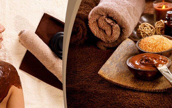 60minutové čokoládové hýčkání - dopřejte si uvolňující masáž