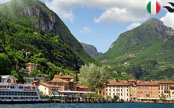Pobyt se snídaní u italského jezera Lago di Garda