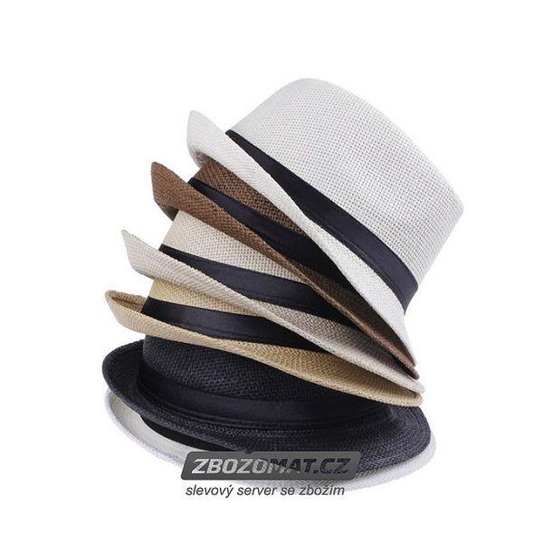 Unisexový klobouk Fedora - doplní outfit a ochrání před sluncem!