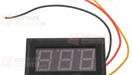 Měřič napětí baterie a poštovné ZDARMA! - 21408920