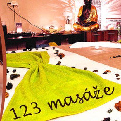 Luxusní horká čokoládová masáž včetně peelingu a zábalu