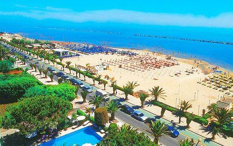 10denní letní dovolená v Itálii na Palmové riviéře pro 1 osobu