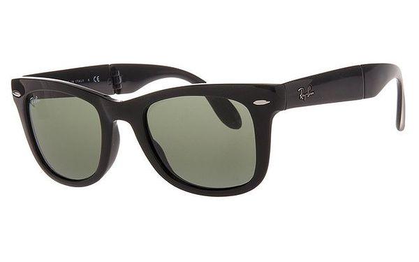 Černé sluneční brýle se skládacími obroučkami Ray-Ban