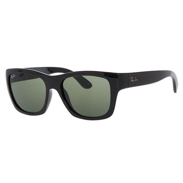Černé sluneční brýle s tmavě zelenými skly Ray-Ban