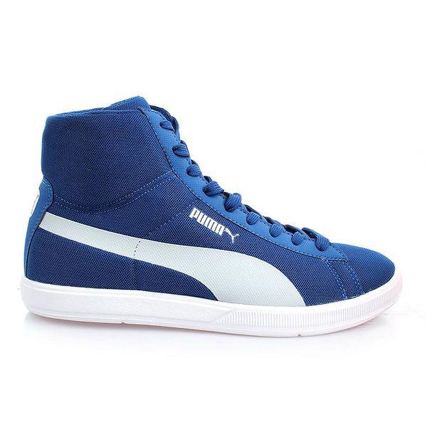Pánské modré kotníčkové boty Puma