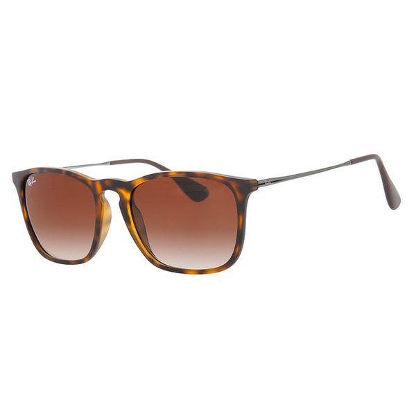Žíhané sluneční brýle s tenkými stranicemi Ray-Ban