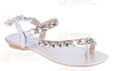 Sandálky na léto s kamínky a poštovné ZDARMA! - 21512133