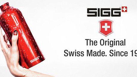 Originální švýcarské láhve a termoska Sigg