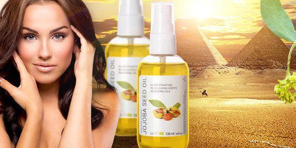100% organický jojobový olej sširokým použitím (100 ml)