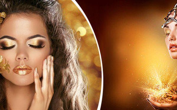 GOLDEN ELIXÍR - formule mládí uložená v Marockém zlatě (60 min.)