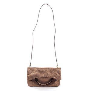 Dámská měděně lesklá kabelka Puntotres