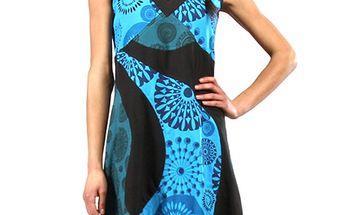 Dámské modro-černé šaty Aller Simplement