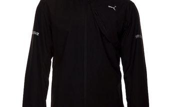 Pánská černá softshellová bunda Puma