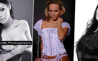 Glamour a Portrét v profesionálním ateliéru