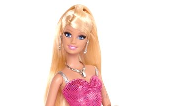 Barbie Dreamhouse - Barbie s růžovými šaty Mattel Y7436_Y7437
