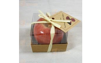 Svíčka ve tvaru jablka a poštovné ZDARMA! - 21712153
