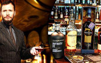 Řízená degustace 5 skotských whisky