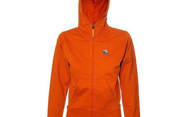 Dámská oranžová mikina Rejoice s kapucí