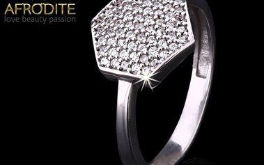 Dámský prsten se zirkony Afrodite