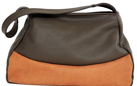 Dámská kožená dvoubarevná kabelka Bellemarie