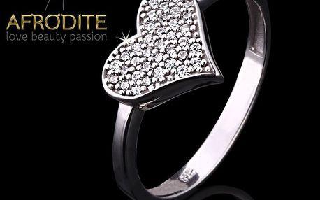 Dámský romantický prsten Afrodite
