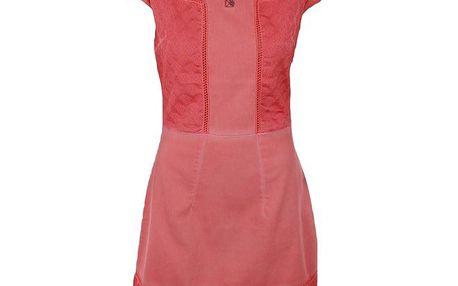 Dámské korálové šaty s průstřihy Angels Never Die