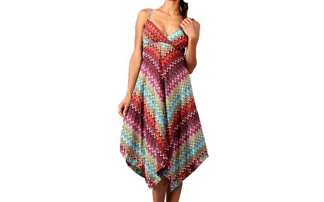 Dámské šaty s cik cak potiskem Aller Simplement