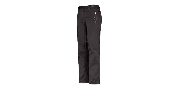 Dámské černé softshellové kalhoty Husky