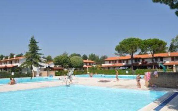 Itálie, oblast Bibione, bez stravy na 8 dní