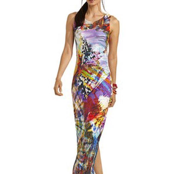 Šaty, vícebarevná