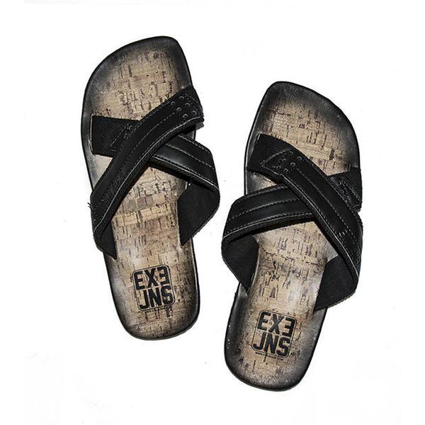 Pánské černé sandály Exe Jeans