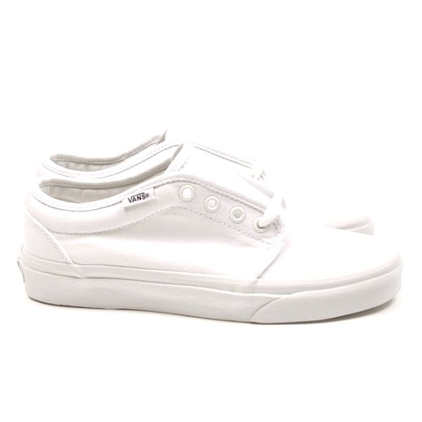 Unisexové sněhově bílé tenisky Vans