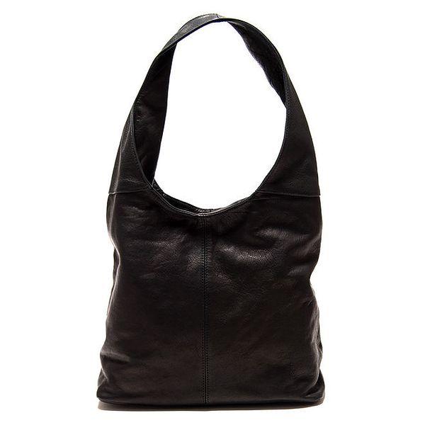 Dámská černá kabelka s jedním uchem Roberta Minelli