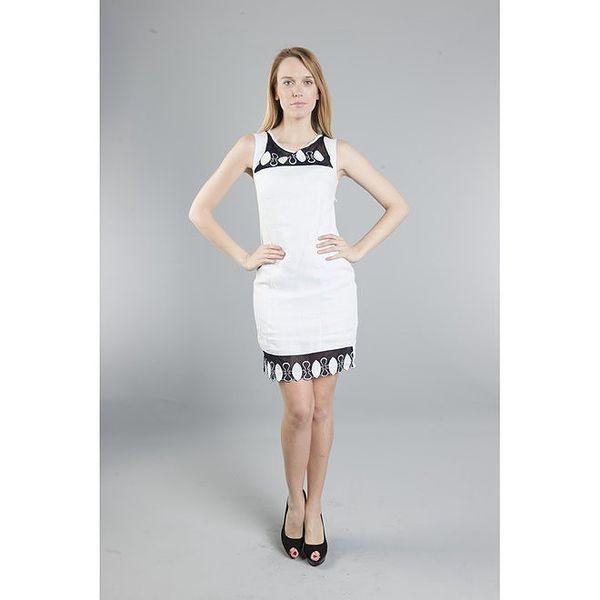Dámské bílé šaty Via Bellucci