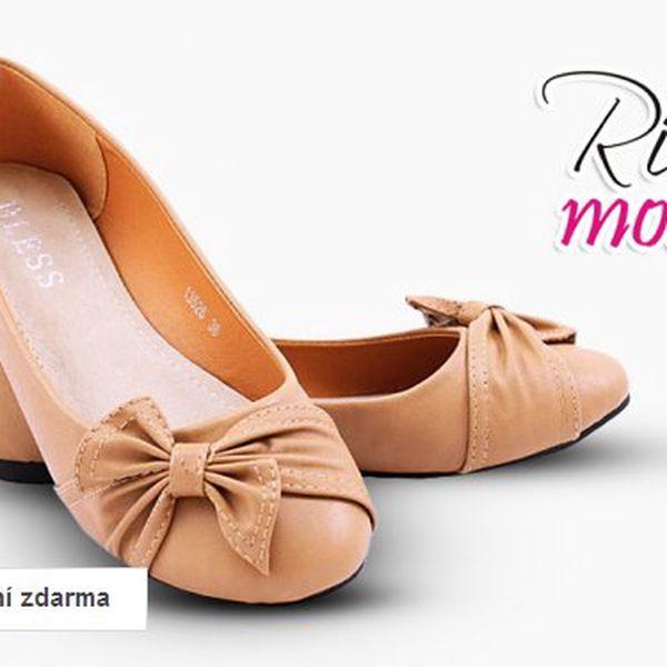 Dámské módní baleríny Rio