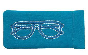 Modré pouzdro na brýle Sewlomax