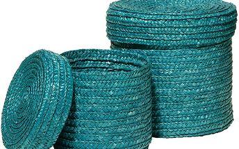 Dekorativní košíčky modré