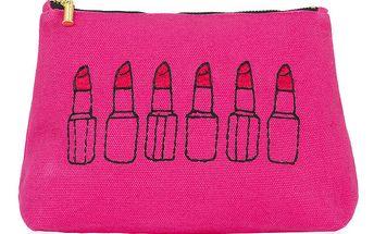 Růžová taštička na make-up Sewlomax