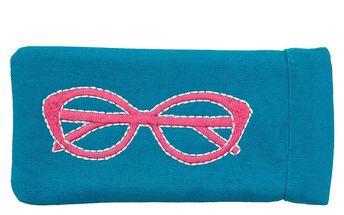 Modro-růžové pouzdro na brýle Sewlomax