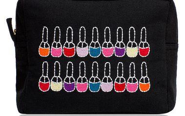 Černá taška na make-up Sewlomax
