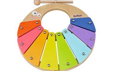 Barevný xylofon