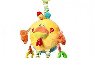 Baby Ono - závěsná plyšová hračka - koule - míč Kuře kat. 1183