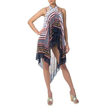 Dámská sukně s námořnickým motivem Charmante