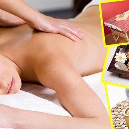 Relaxační aroma olejová, thajská olejovánebomedová masáž na 80 minut za neuvěřitelnou cenu! Přijďte si odpočinout nebo napravit tělo do luxusního salonu. V nabídce je za chladnějšího počasí i lávová masáž a masáž svíčkou!