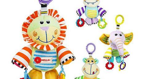 BabyFans - závěsná hračka na kočárek - postýlku - opice
