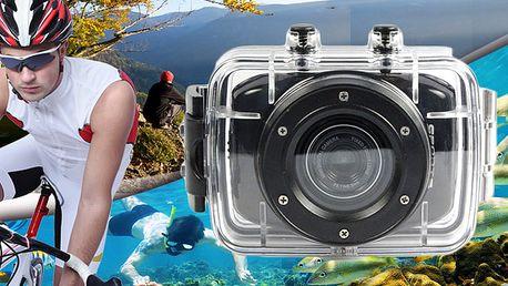 Sportovní minikamera s dotykovým displejem