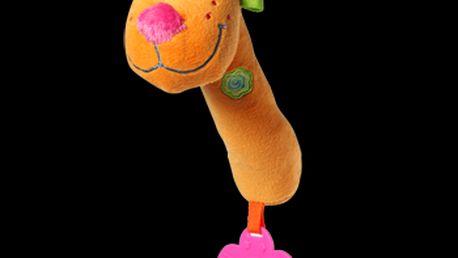 Baby Ono - pískací hračka s kousátkem 1103 - Lev