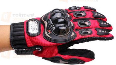 Motocyklistické rukavice - 4 barvy, 4 velikosti a poštovné ZDARMA! - 22212174