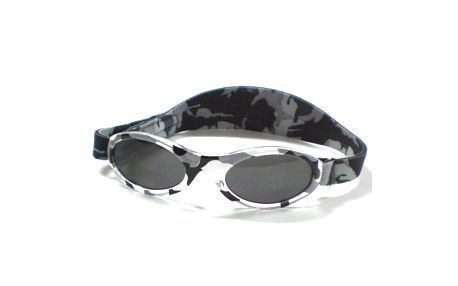 Kidz Banz - sluneční brýle Adventurer Grey camo - 2-5 let